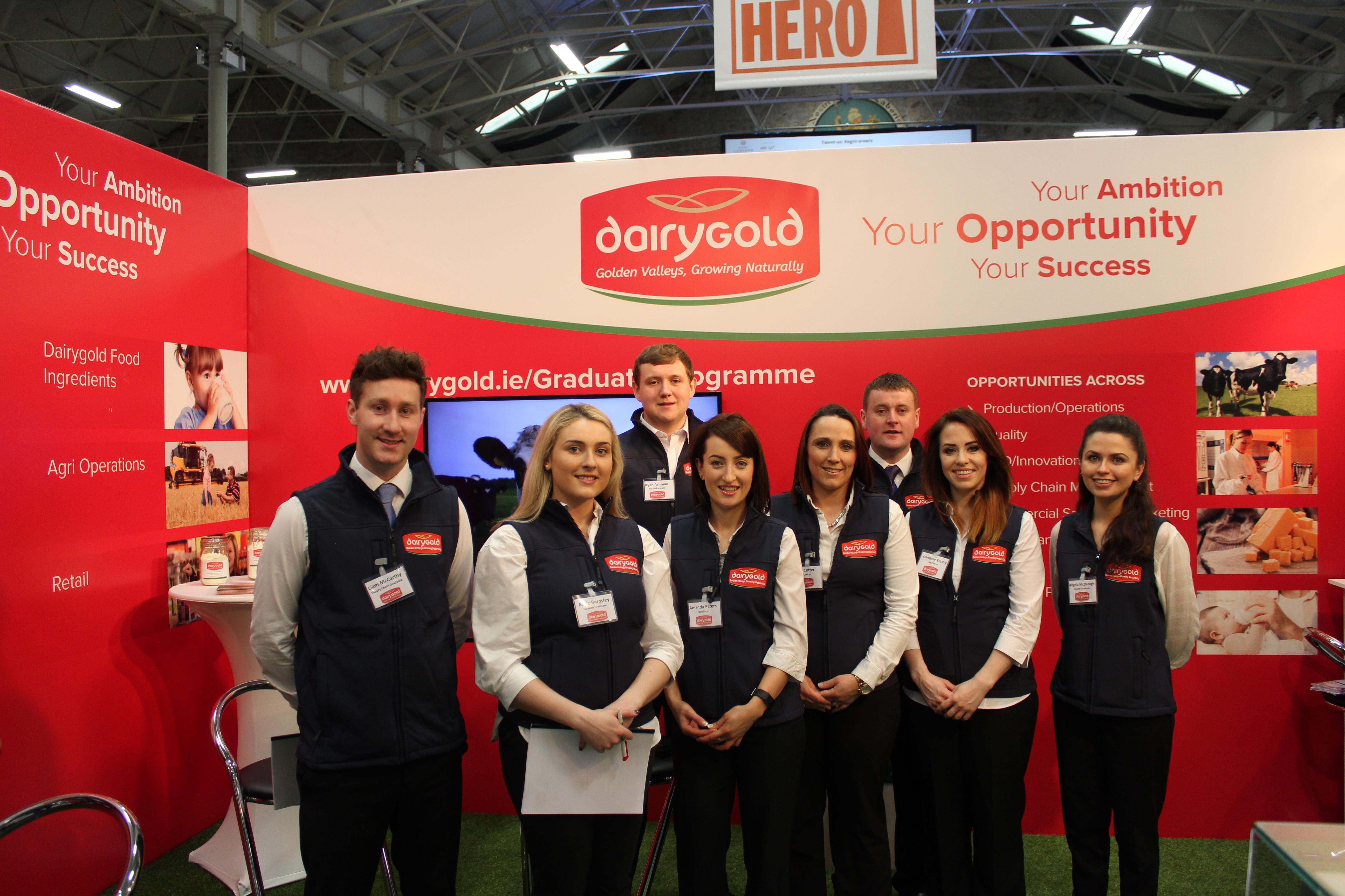 Dairygold Attend the Agri Careers Fair in RDS