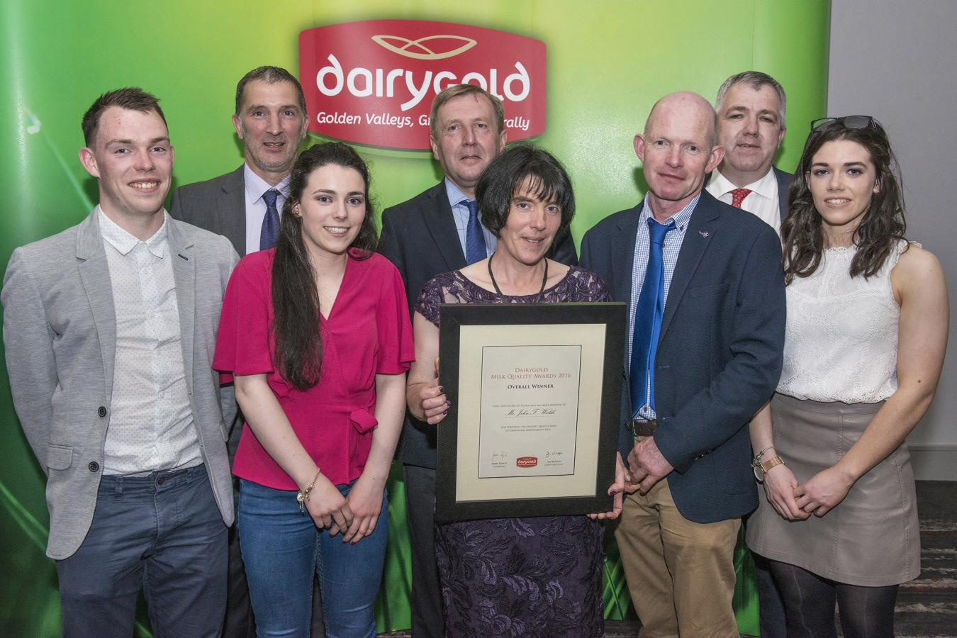 Dairygold announces overall Milk Quality Award Winner