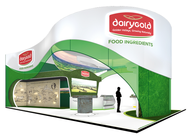 Putting Dairygold on the world stage at Food Ingredients Europe 2017