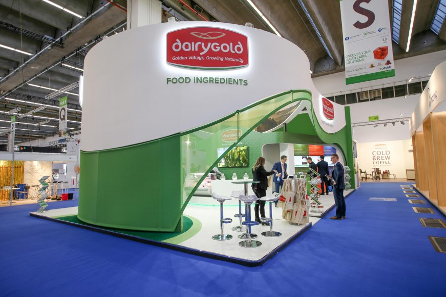 Dairygold draws a crowd at Food Ingredients Europe 2017