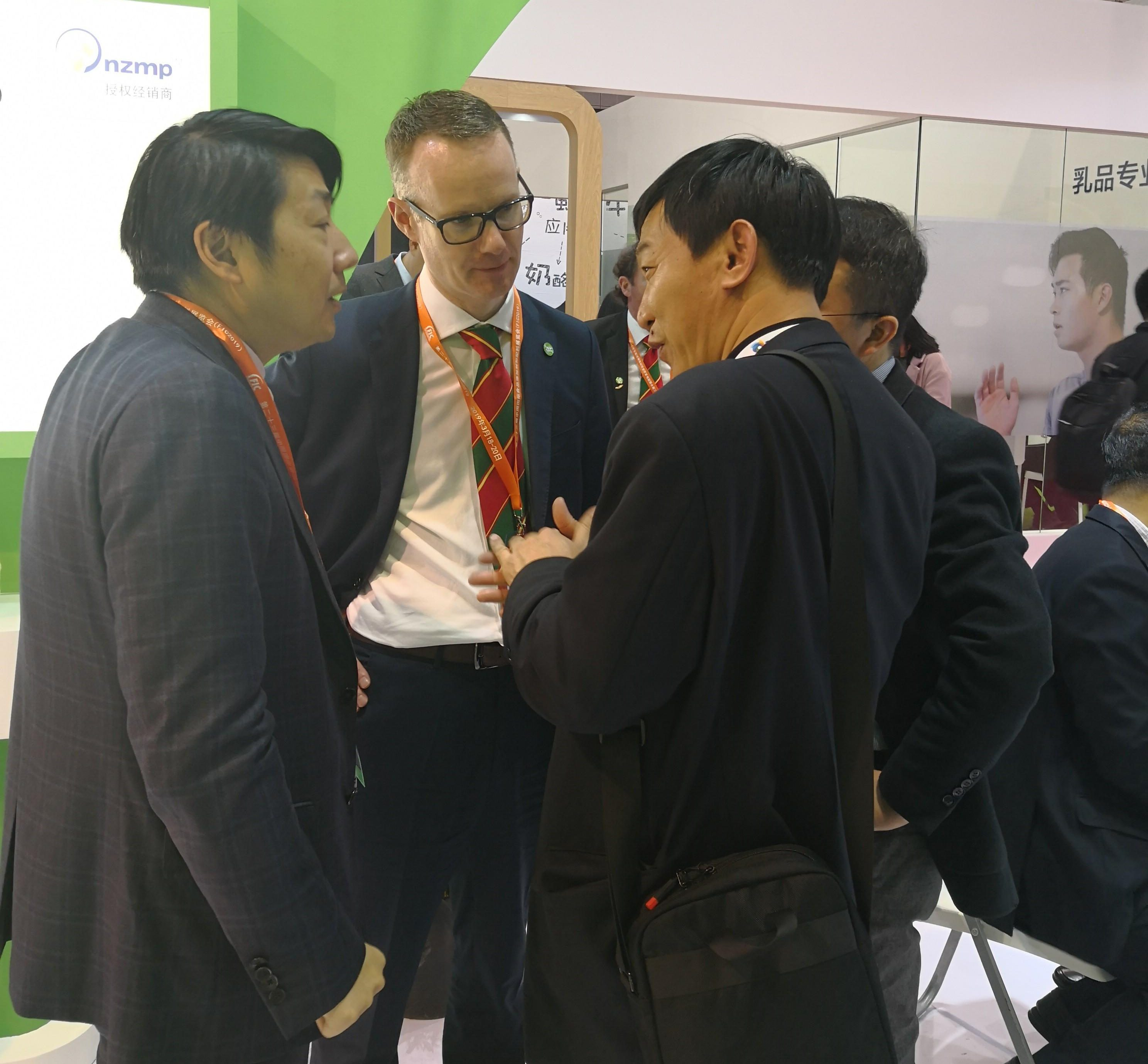 Dairygold Food Ingredients exhibits at Food Ingredients China (FIC) 2018