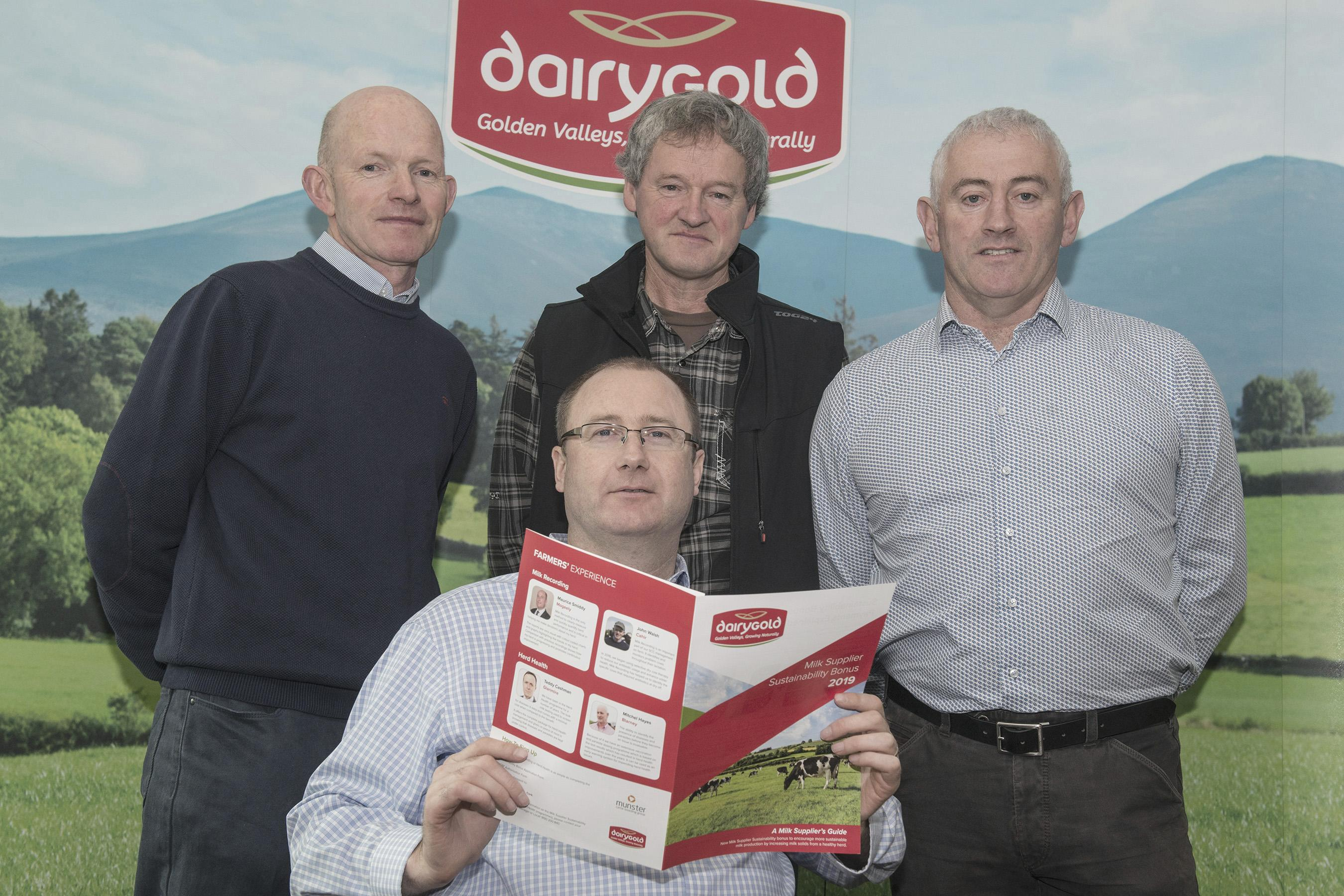 Dairygold introduces new Milk Supplier Sustainability Bonus