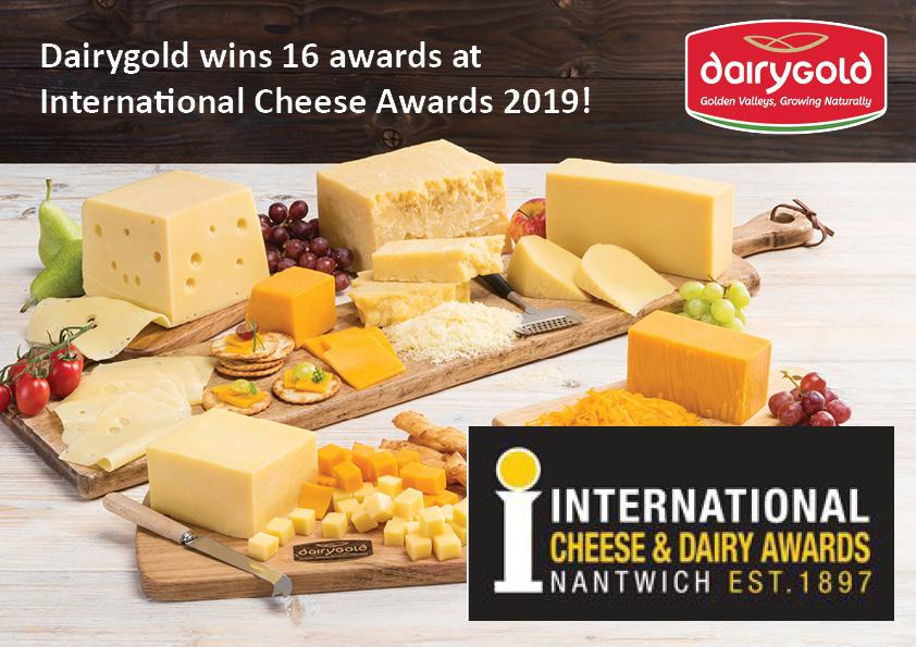 International Cheese Award Results