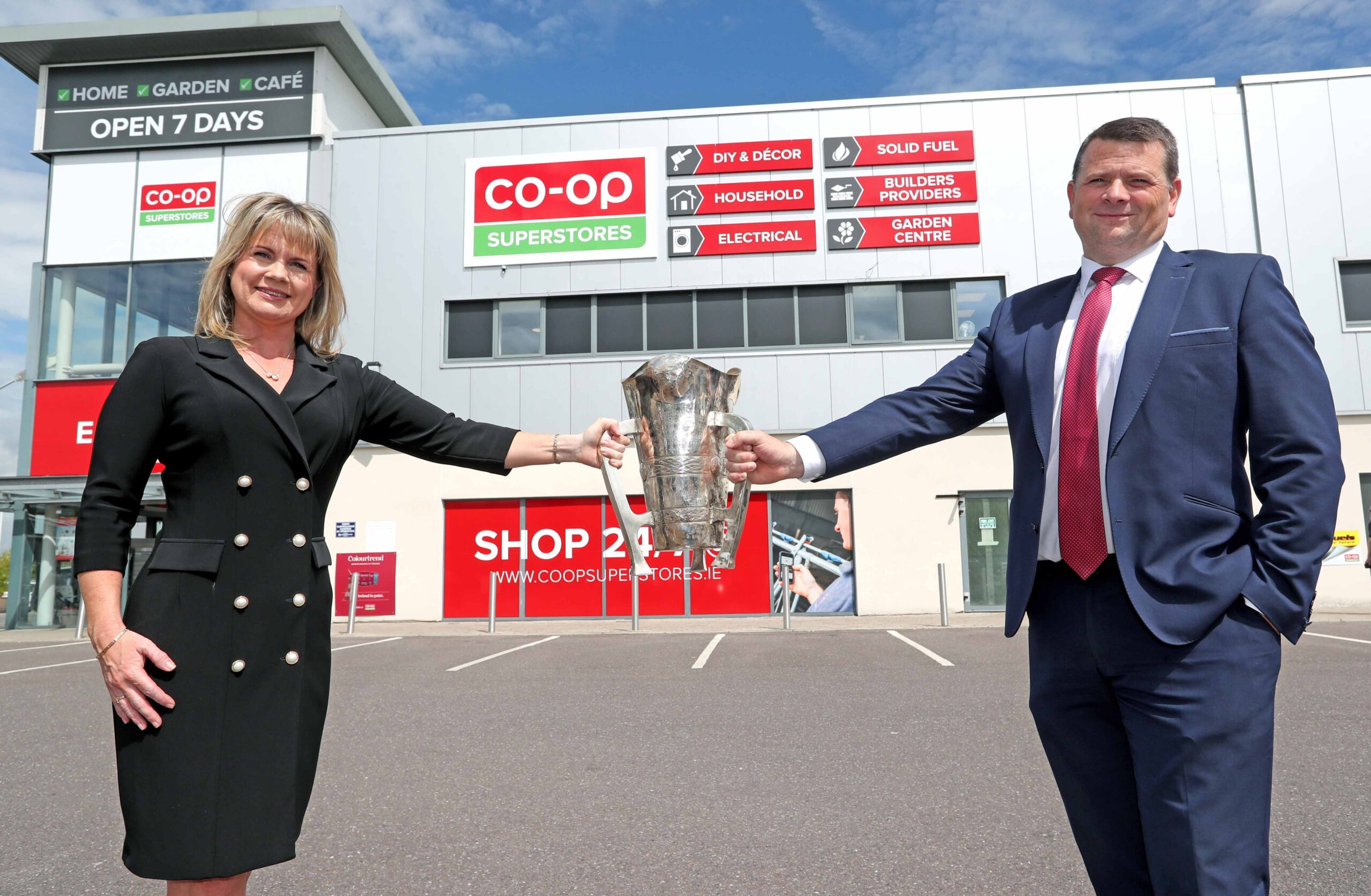 Launch of Co-Op Superstores Cork County Hurling Championships